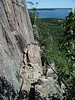 04-09 The Precipice Trail : This was the trail I did my very first carry-out rescue on in 2000, and I thought it was about time for a re-visit. It's steep and with some spectacular views, but it's not for the faint of heart.